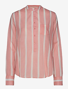 Bianca Shirt - CORAL BLUSH