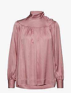 Lucille Blouse - BARELY PINK