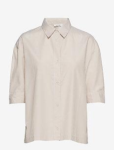 Minelli Shirt - short-sleeved shirts - sand