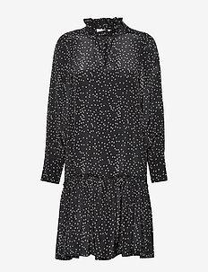 Piper Dress - midi kjoler - black