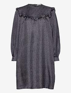 Satine Dress - korte kjoler - total eclipse