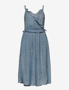 Asha Dress - slå-om-kjoler - silver lake
