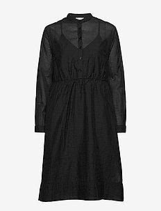 Mila Dress - midi kjoler - black