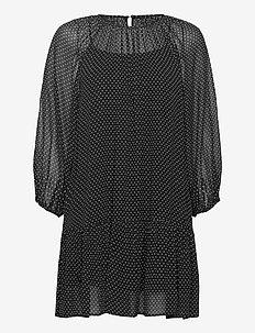 Olympia Dress - kurze kleider - black