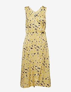 Penelope Dress - YELLOW CREAM