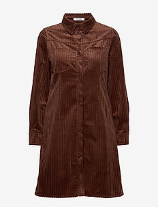Alexa Dress - BROWN