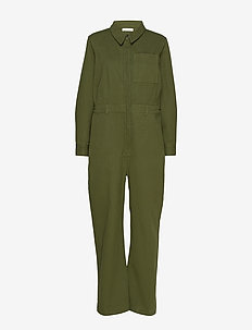 Miller Jumpsuit - jumpsuits - army