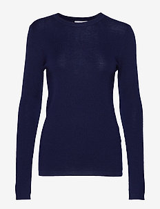 Selma round neck - NAVY
