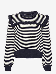 Milo Pullover - jumpers - navy