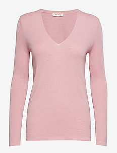 Inge V-neck - CORAL BLUSH