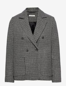 Belma Blazer - dobbeltspent blazer - dark grey