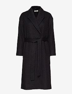 Vera Coat - BLACK