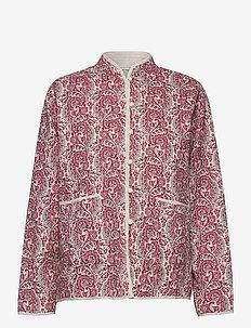 Paloma Jacket - light jackets - coral blush