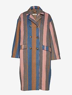 Robyn Coat - wool coats - multi