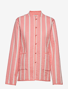 Paloma Jacket - CORAL BLUSH