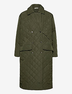 Robyn Coat - toppatakit - army