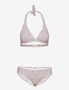Chrissy Bikini - CORAL BLUSH