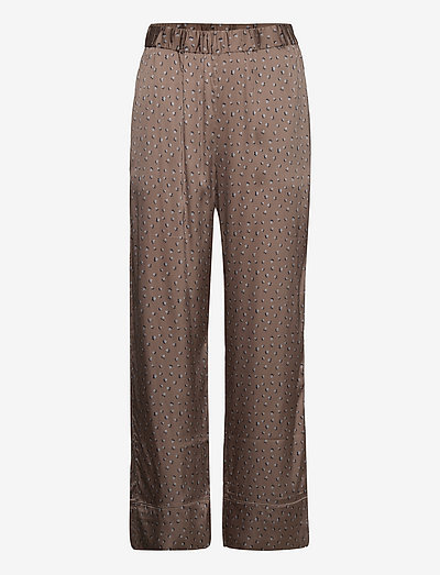 Anker Pants - bukser med lige ben - chocolate chip