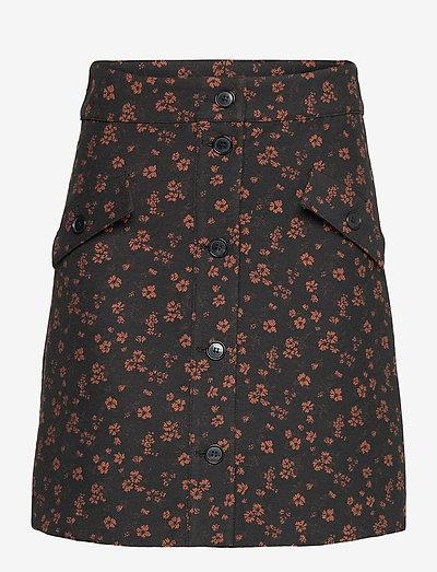 Hannah Skirt - korta kjolar - black
