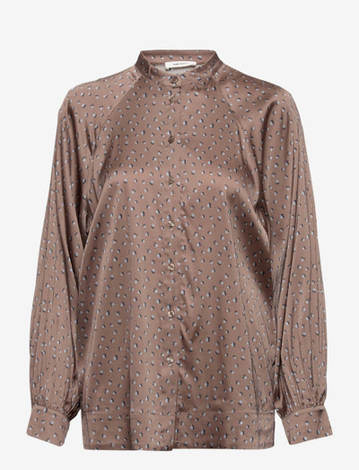 Lyon Shirt - langærmede bluser - chocolate chip