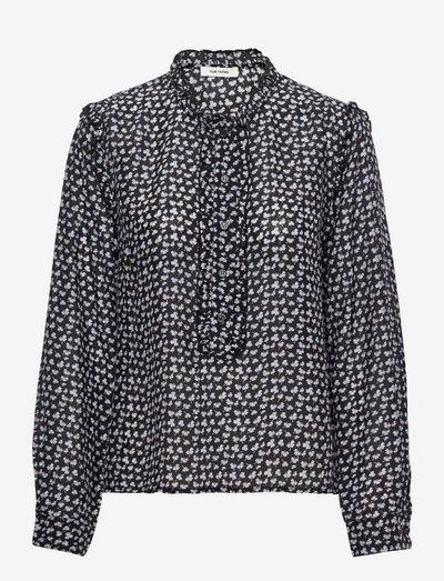 Hayden Shirt - langærmede bluser - eventide