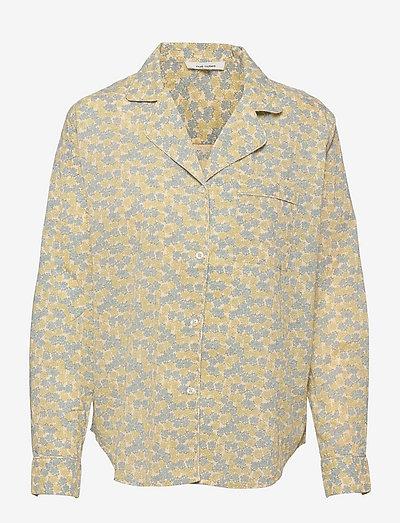 Poco Shirt - langærmede skjorter - dream blue