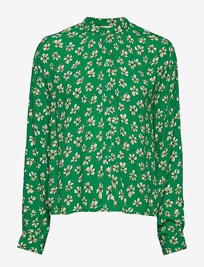 Aline Shirt - langærmede bluser - leprechaun green