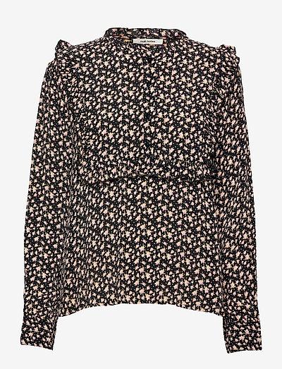 Jaqueline Shirt - langærmede bluser - coral blush
