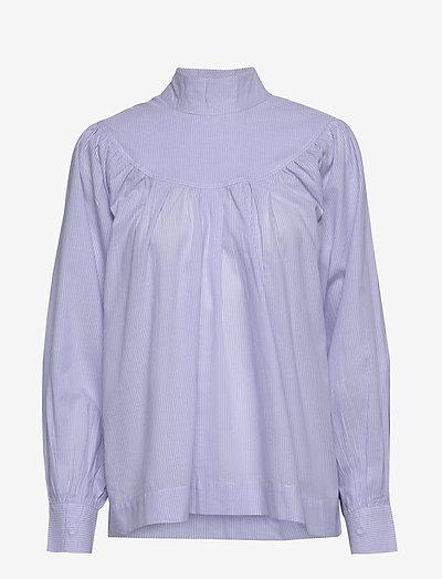 Lucille Shirt - langærmede bluser - light blue