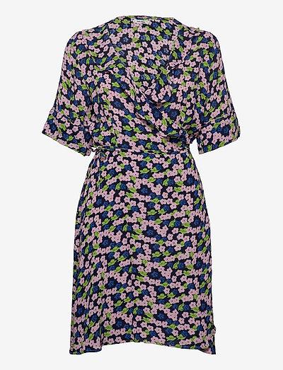 Baraka Dress - omlottklänningar - rose shadow