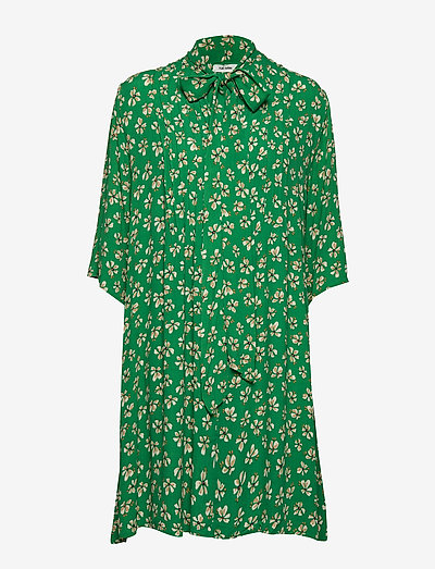 Penny Dress - midi kjoler - leprechaun green