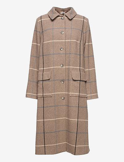 Benji Coat - vinterfrakker - grey flannel