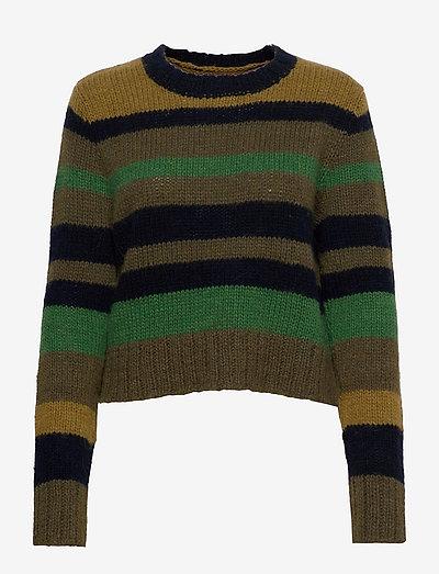 Odysses sweater - trøjer - forrest green