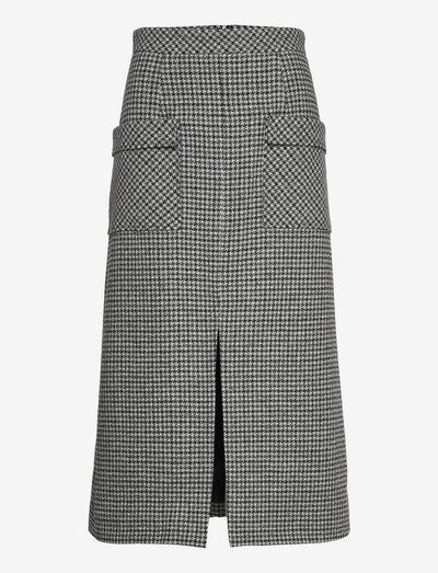 Al Skirt - midinederdele - dark grey