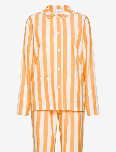 Uno Stripe - nachtkleding & lounge wear - orange & white