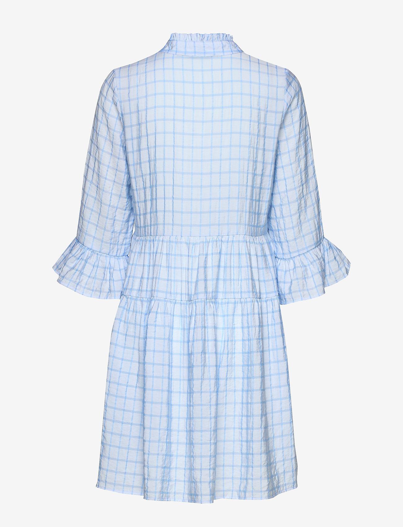 Nümph NUBEULA DRESS - Sukienki AIRY BLUE - Kobiety Odzież.