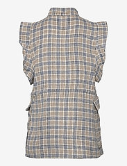 Nümph - NUALMA VEST - knitted vests - wedgewood - 2