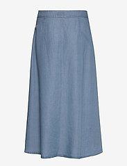 Nümph - NUAHNA SKIRT - jeansowe spódnice - l.b.denim - 1