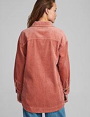 Nümph - NUCALAH OVERSHIRT - overshirts - ash rose - 3
