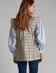 Nümph - NUALMA VEST - knitted vests - wedgewood - 3