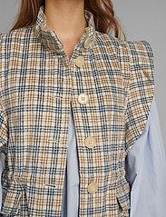 Nümph - NUALMA VEST - knitted vests - wedgewood - 4