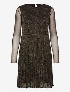NUFREJA SHORT DRESS - korte kjoler - caviar