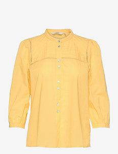 NUCINDY SHIRT - overhemden met lange mouwen - snapdragon