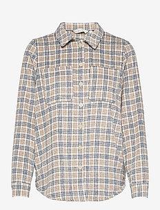 NUALMA SHIRT - overshirts - wedgewood