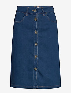 NUAYLETH SKIRT - jeansröcke - m.b.denim