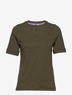 NUALEELA T-SHIRT - t-shirts - m. olive