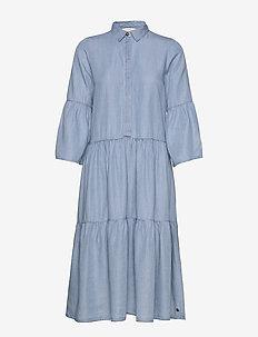 NUANNA DRESS - jeansowe sukienki - l.b.denim