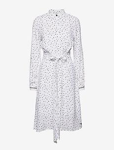 NUAILISH DRESS - shirt dresses - b. white