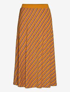 NUBUNTY SKIRT - midinederdele - buckthorn brown