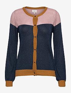 NUBRIA CARDIGAN - swetry rozpinane - moonlit